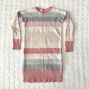 GAP Girl's Striped Knit Sweater Dress • VGUC • S